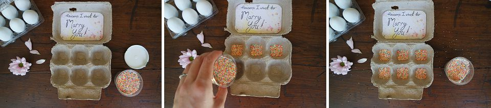 Easter Inspired Proposal DIY