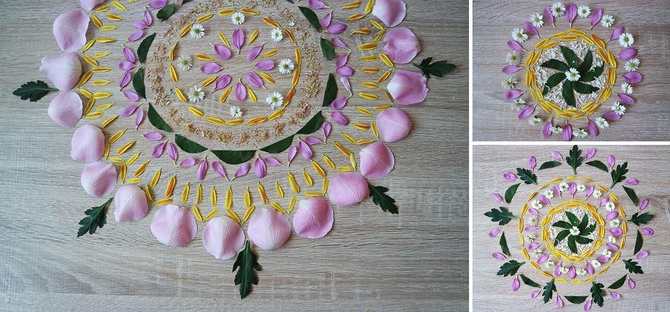 Spring Flower Mandala
