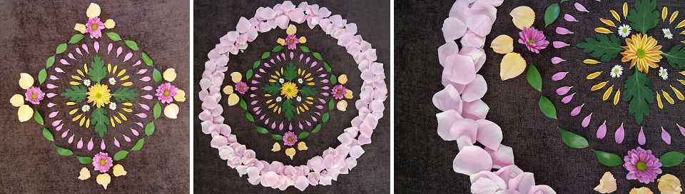 Runaway Romance Flower Mandala