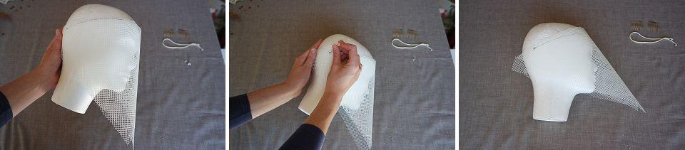 Runaway Romance Birdcage Veil DIY