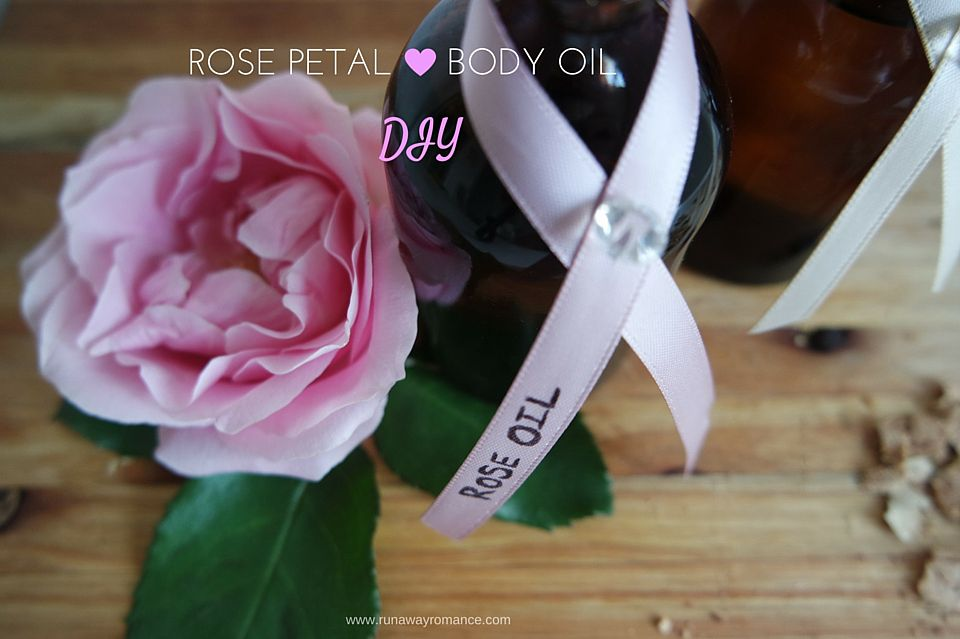 Runaway Romance | Rose Petal Body Oil