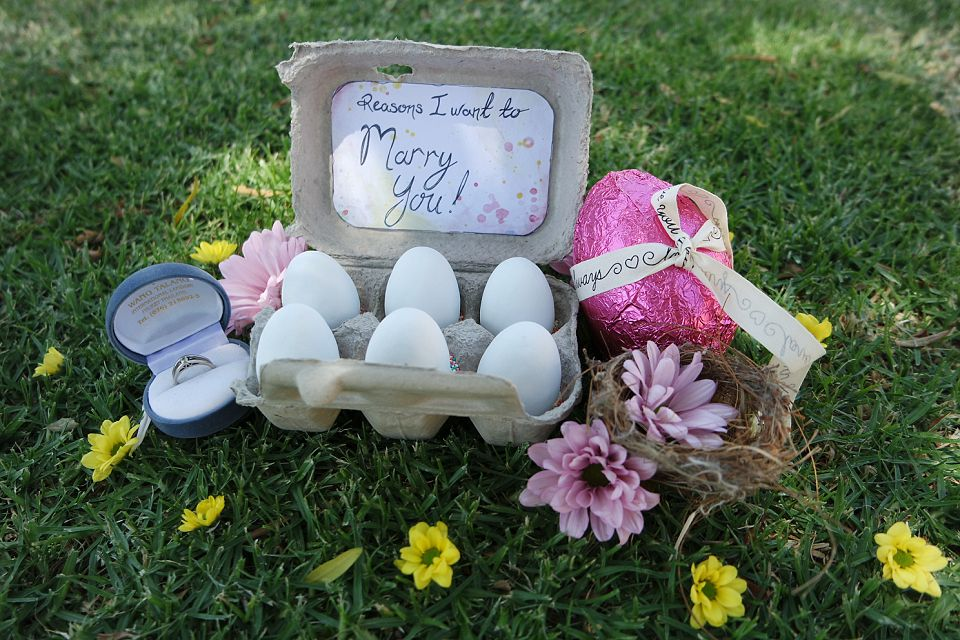 Easter Themed Proposal Ideas A Free Printable Runaway